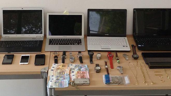 Detenida la banda de 5 ladrones por robos en casas y habitaciones de hotel de la zona de Calvià
