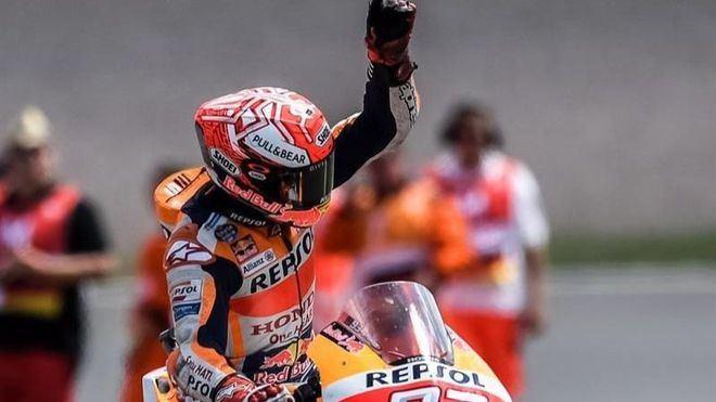 Márquez aprieta y supera a Lorenzo ganando el Gran Premio de Alemania