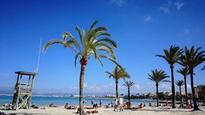 Día soleado y mucho calor este martes en Mallorca