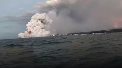 23 turistas heridos en Hawái por una explosión de lava del volcán Kilauea