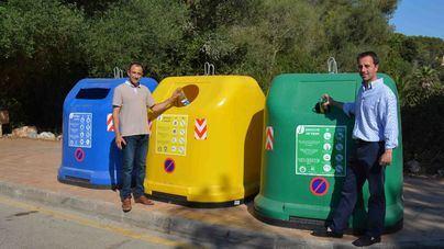Santanyí renueva todos los contenedores de reciclaje del municipio