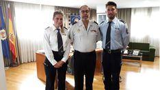 Dos inspectores alemanes se forman en Mallorca con la Policía Nacional