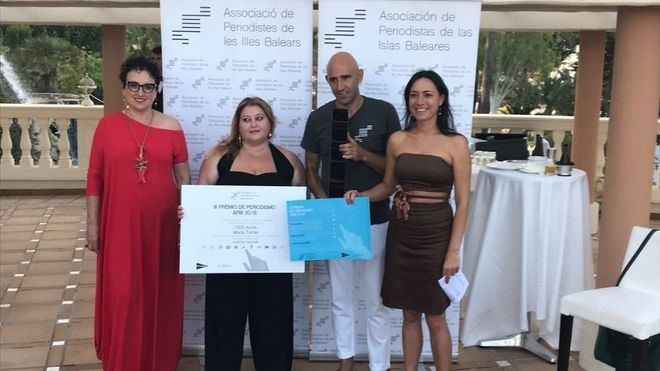 La periodista Marta Torres gana el III Premio de Periodismo APIB