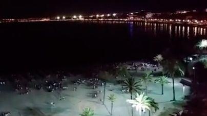 Cinco detenidos en Playa de Palma por robar a turistas de noche en la arena y otro por agresión