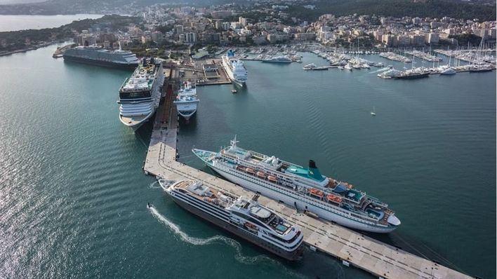 Autoridad Portuaria y la UIB concluyen que los cruceros no explican la contaminación de Palma