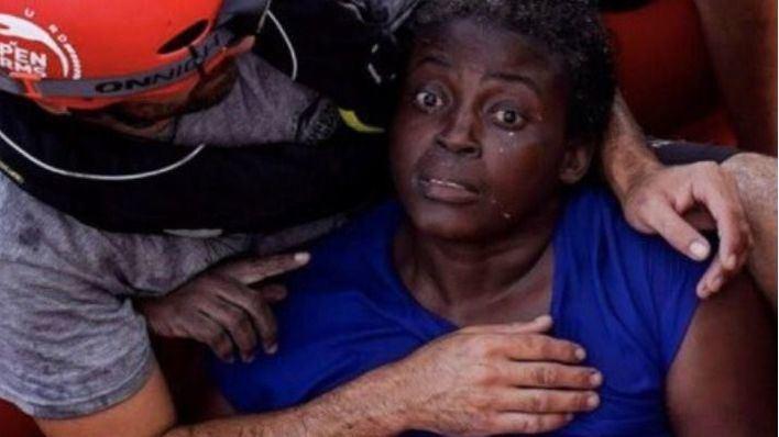 La mujer rescatada por Open Arms que vendrá a Mallorca: