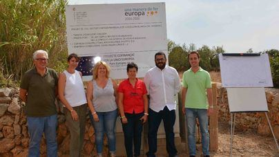 El Ajuntament de Santanyí proporciona alcantarillado a s'Alqueria Blanca