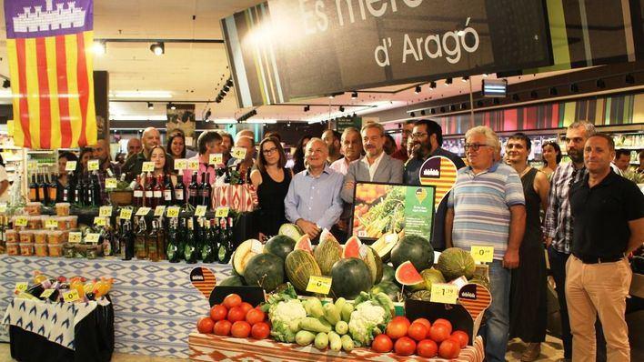 Eroski incrementa un 9,5 por ciento la venta de producto local