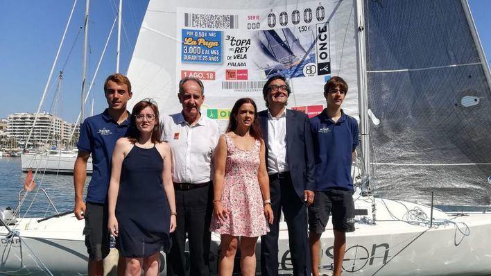 La Copa del Rey de Vela y la ONCE navegarán juntos en esta 37ª edición