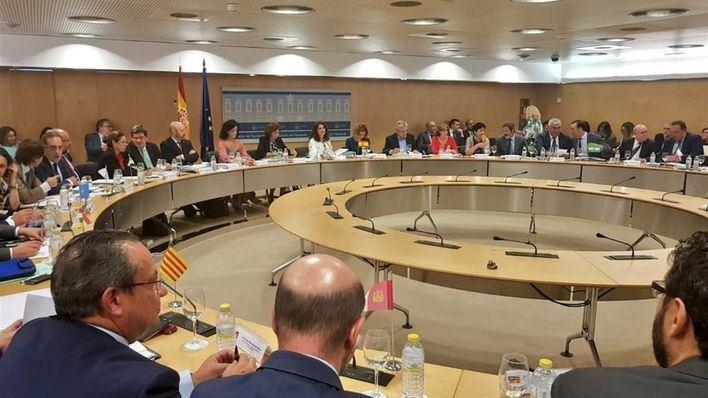 Reunión en Madrid de las CCAA