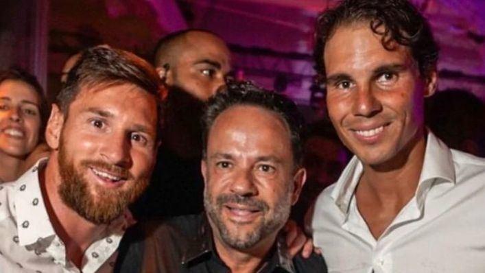Cumbre en la noche ibicenca entre Lionel Messi y Rafael Nadal
