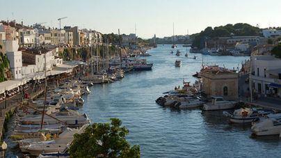 El puerto de Ciutadella registra varias rissagas