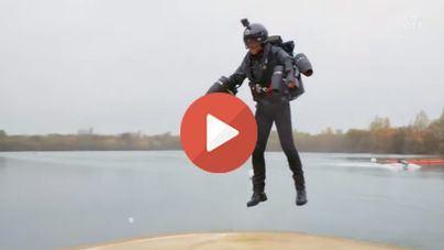 La solución a todos los atascos de Palma: el traje volador