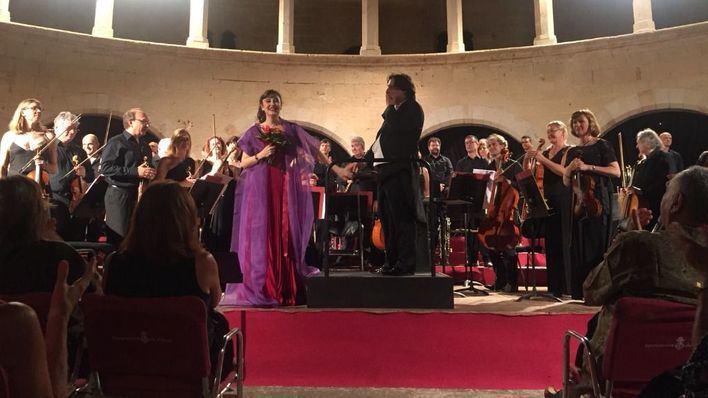 María José Montiel cautiva a los asistentes de la III edición del Festival Bellver
