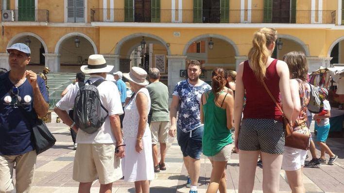 Exceltur rebaja el crecimiento del PIB turístico hasta el 2,6 por cien por la bajada de demanda extranjera