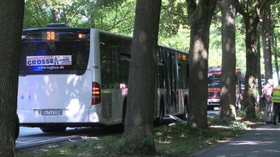 Detenido un hombre tras acuchillar a varios usuarios de autobús en Alemania