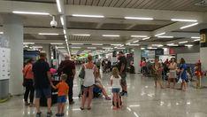 Más de medio millón de pasajeros pasarán por los aeropuertos de Balears