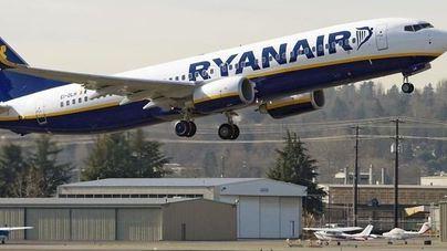 Ryanair intenta minimizar los efectos de la huelga de sus tripulantes de cabina