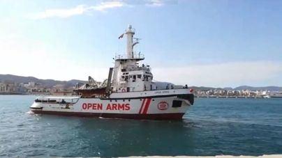 Open Arms zarpa hacia el Mediterráneo central para ayudar migrantes