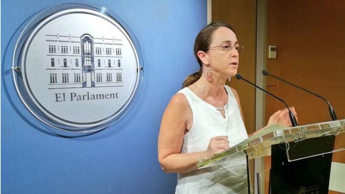 La diputada de Cs Olga Ballester cree que el Govern engaña a los ciudadanos