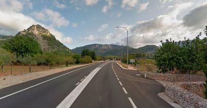 Muere un policía local de Palma fuera de servicio en un accidente de tráfico en la carretera de Sóller