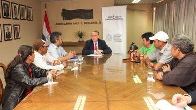 La avioneta del ministro de Agricultura de Paraguay, desaparecida