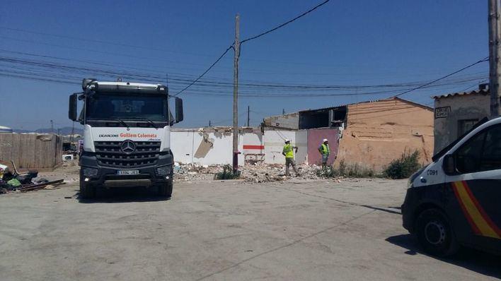 """Cort tira la primera casa en Son Banya y Noguera asegura que """"en 2020 no habrá poblado"""""""