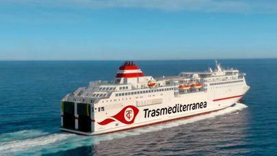 Modernidad y tradición: Trasmediterranea presenta su nueva imagen corporativa