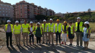 Arrancan las obras del bosque urbano en el canódromo de Palma