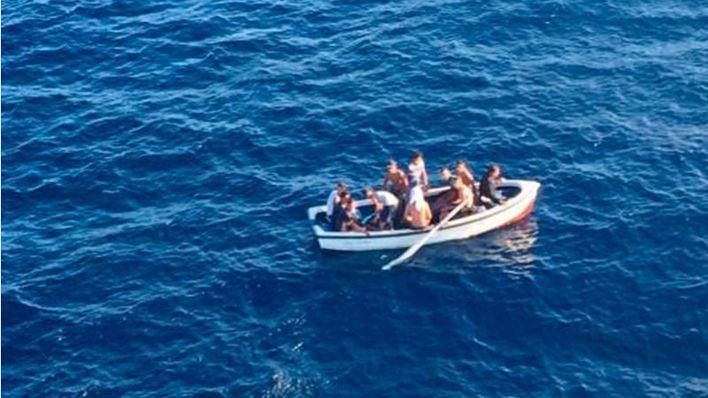 Pasan a disposición judicial los 8 argelinos llegados en patera