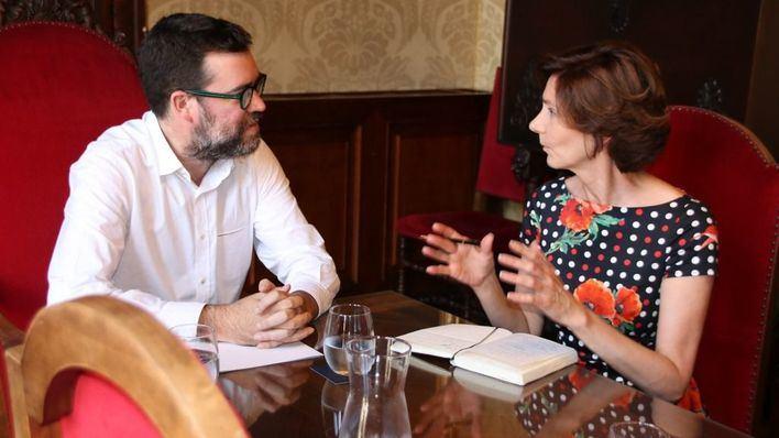 Noguera pide a Oliver colaboración para recuperar las inversiones de Playa de Palma