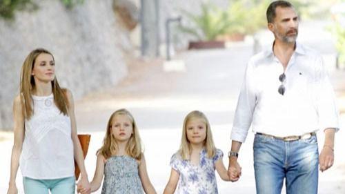Los Reyes y sus hijas harán su primera aparición pública este domingo