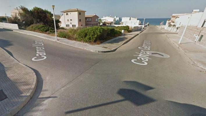 Heridos un niño de 3 años y hombre de 60 en un accidente de circulación en Son Serra de Marina