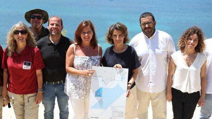 El Gobierno facilitará la ampliación de Cabrera, que será el mayor parque del Mediterráneo