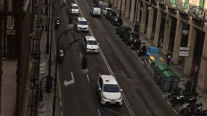 Mallorca afronta cinco horas de parón en el servicio de taxis