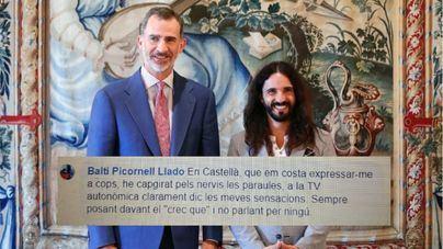 """Picornell la lió tras verse con el Rey porque """"me cuesta expresarme en castellano"""""""