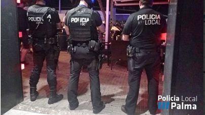 Atrapan en Palma a un traficante que escondía la droga en contadores en la calle