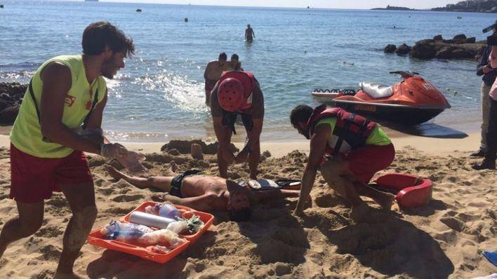 Imagen de archivo de un ahogamiento en Mallorca