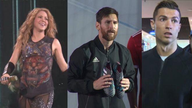 Cristiano, Messi o Shakira, los mejores jefes para los niños españoles