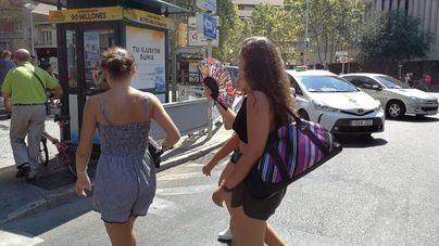 Llubí y Lloret marcan máximas de hasta 36 grados durante el primer día de ola de calor