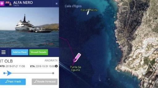 Alertan de 82 casos de posible fondeo sobre posidonia en Mallorca durante el mes de julio