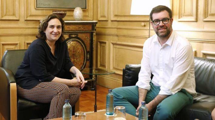 """Noguera se reúne con Colau para intercambiar """"experiencias"""" y trazar planes entre Palma y Barcelona"""