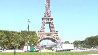 La Torre Eiffel, cerrada por huelga de sus trabajadores