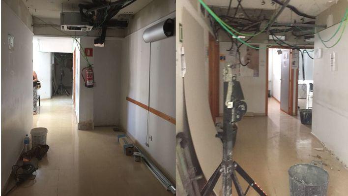 Médicos y pacientes del PAC de Cala Rajada pasan consulta a 30 grados