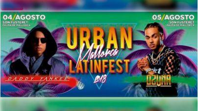 Daddy Yankee y Ozuna, al frente del Urban Mallorca Latin Fest de Son Fusteret