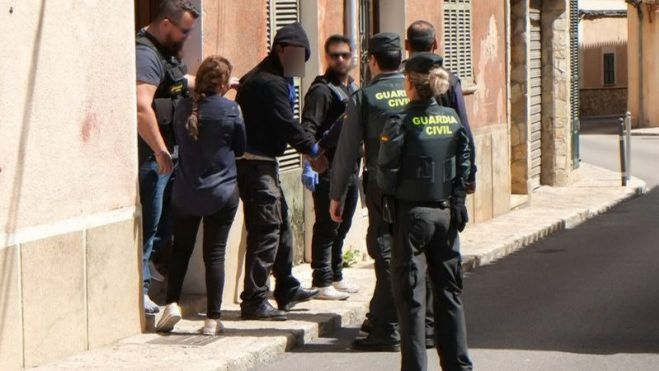 Prisión provisional para ocho de los detenidos en la operación antidroga de la Guardia Civil en Mallorca