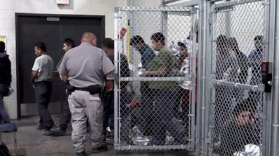 Inmigrantes detenidos en Texas, en huelga de hambre por sus familias