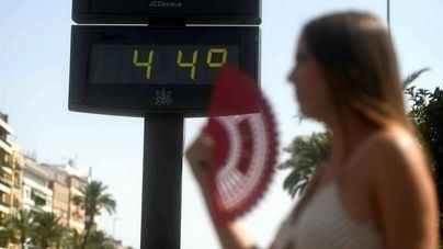 La ola de calor dejará temperaturas de hasta 44 grados en la Península