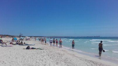 El termómetro rozará los 36 grados en el sur de Mallorca