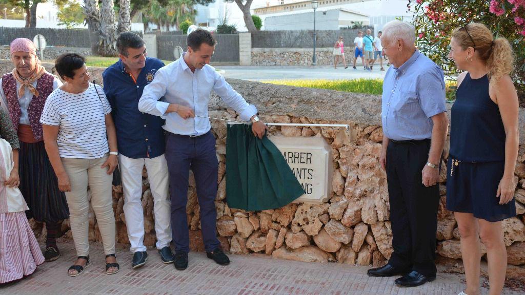 Cala d'Or nombra 'Donants de Sang' a una calle en reconocimiento a la labor del Banc de Sang